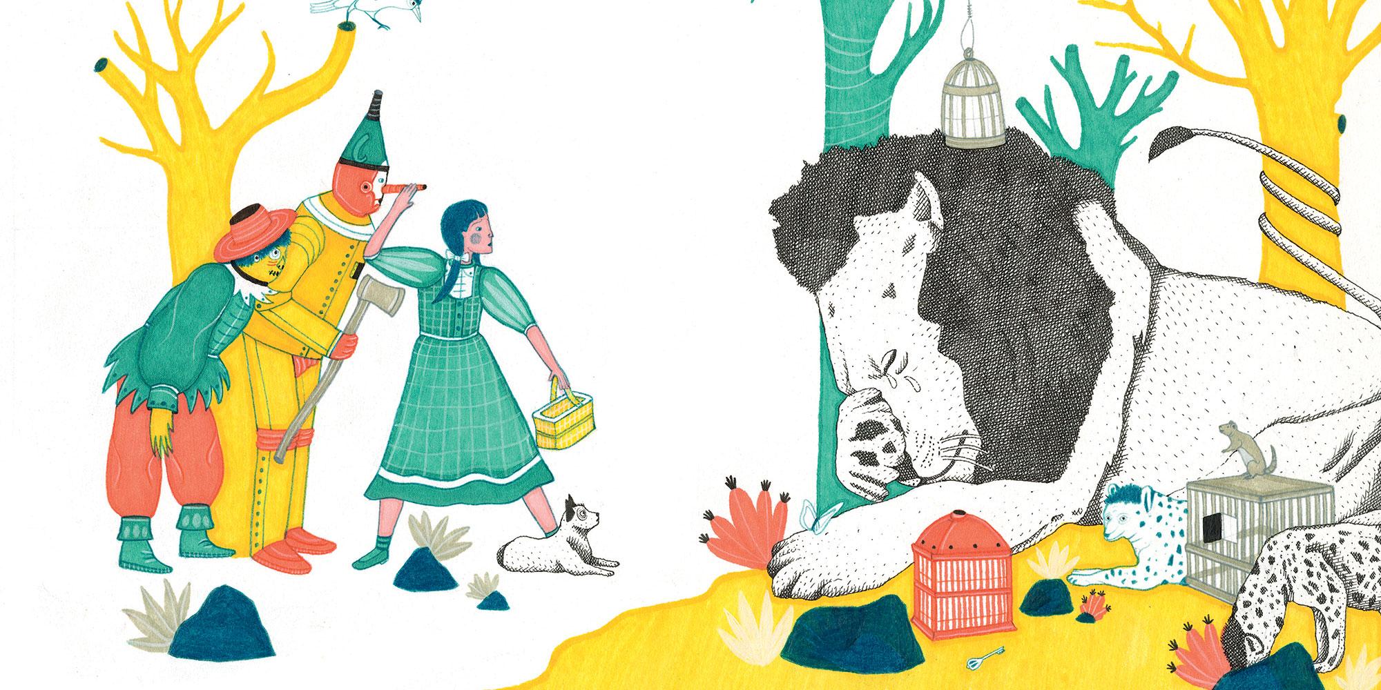 Opera di Chiara Lossani, Il meraviglioso mago di Oz, Arka Edizioni, Milano 2019