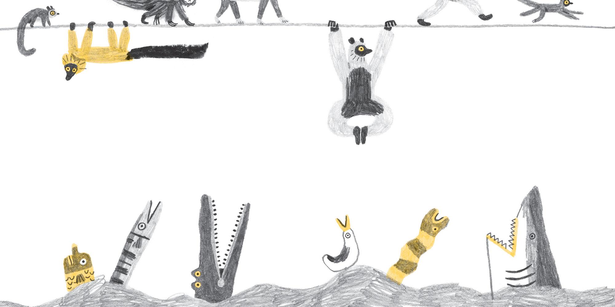 Sulla vita dei lemuri, Corraini edizioni, Mantova, 2020